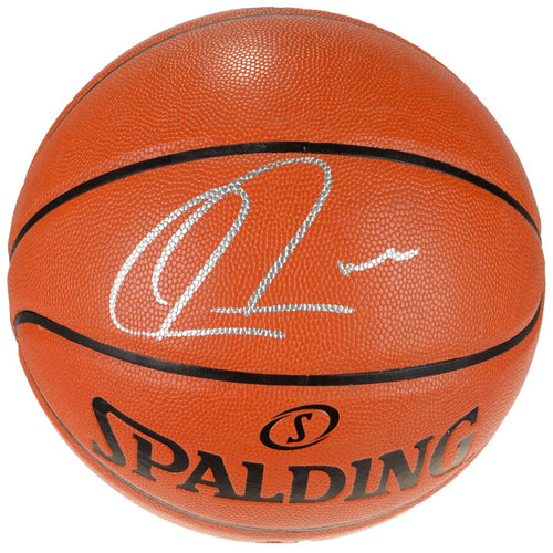 Paul Pierce Boston Celtics Autographed Spalding I/O Basketball - Dynasty Sports & Framing