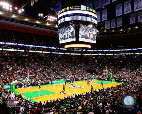 "Boston Celtics TD Garden NBA Basketball 8"" x 10"" Stadium Photo"
