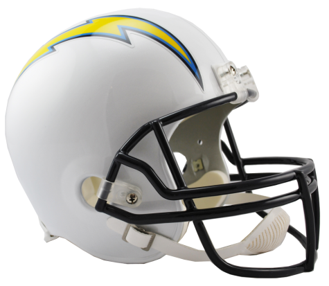 Los Angeles Chargers NFL Full-Size Helmet Replica - Dynasty Sports & Framing