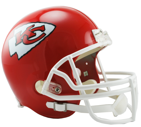 Kansas City Chiefs NFL Full-Size Helmet Replica - Dynasty Sports & Framing