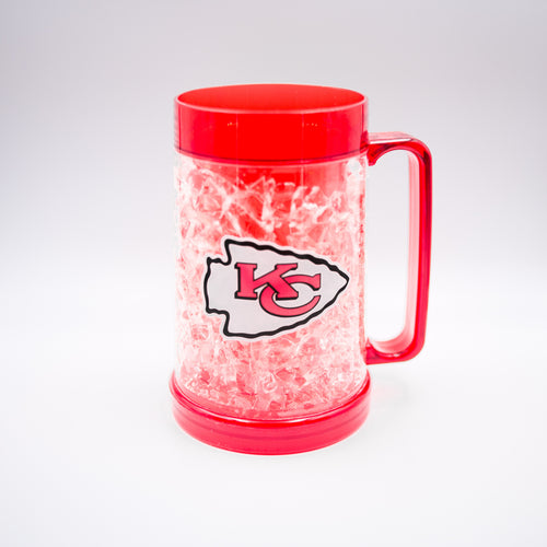 Kansas City Chiefs NFL Football Freezer Mug - Dynasty Sports & Framing