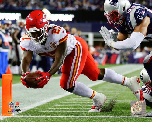 "Kansas City Chiefs Kareem Hunt NFL Football 8"" x 10"" Photo"