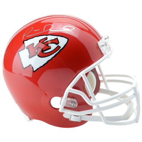 Patrick Mahomes Kansas City Chiefs Autographed NFL Football Full-Size Replica Helmet - Dynasty Sports & Framing