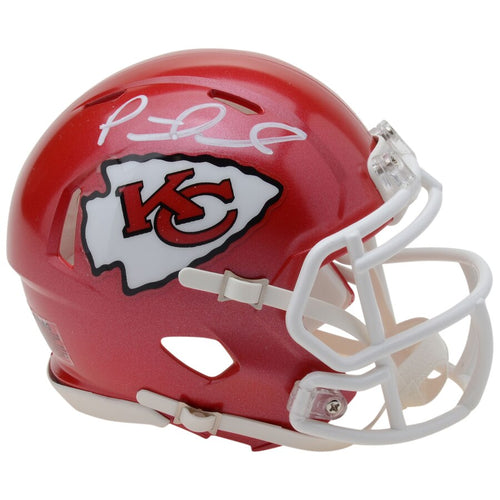 Patrick Mahomes Kansas City Chiefs Autographed NFL Football Speed Mini-Helmet