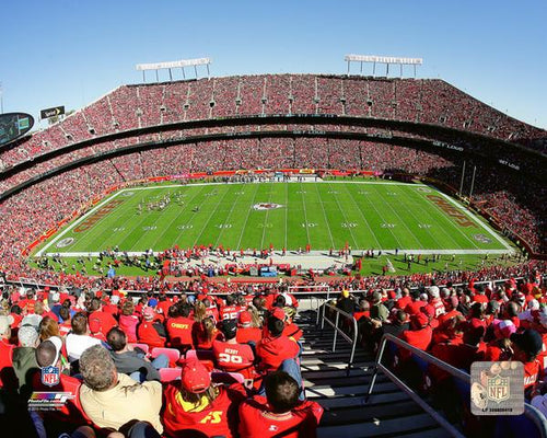 "Kansas City Chiefs Arrowhead Stadium NFL Football 8"" x 10"" Photo"