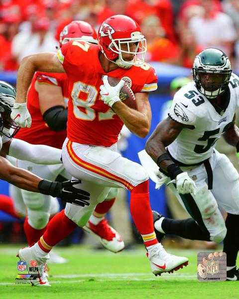 "Kansas City Chiefs Travis Kelce NFL Football 8"" x 10"" Photo - Dynasty Sports & Framing"
