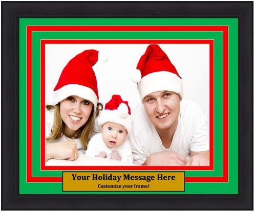 Dynasty Customized Holiday Photo Picture Frame Kit (Horizontal) - Dynasty Sports & Framing