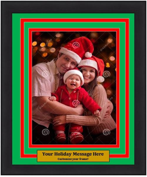 Dynasty Customized Holiday Photo Picture Frame Kit (Vertical) - Dynasty Sports & Framing