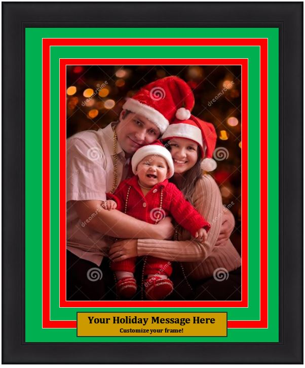 Dynasty Customized Holiday Photo Picture Frame Kit Holiday Picture