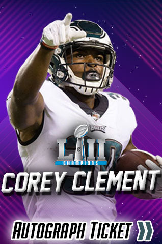 Corey Clement Philadelphia Eagles Experience Tickets