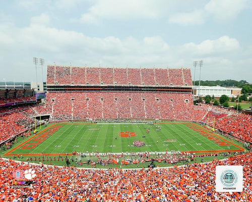"Clemson Tigers Clemson Memorial Stadium NCAA College Football 8"" x 10"" Photo - Dynasty Sports & Framing"