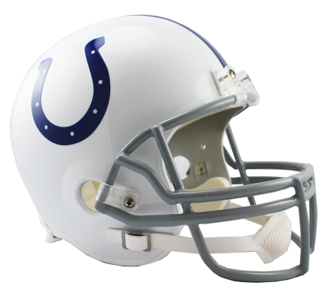 Indianapolis Colts NFL Full-Size Helmet Replica - Dynasty Sports   Framing f75bec567