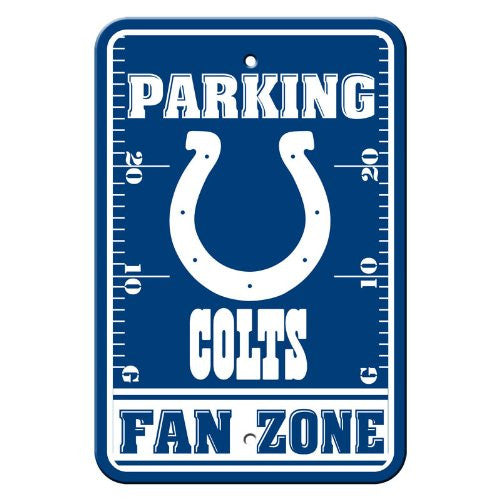 Indianapolis Colts NFL Football Parking Sign - Dynasty Sports & Framing