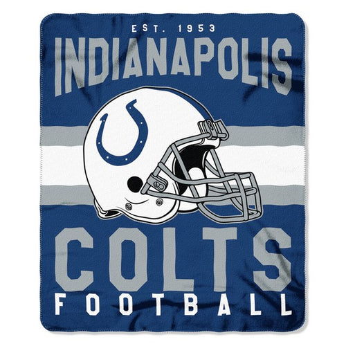"Indianapolis Colts NFL Football 50"" x 60"" Singular Fleece Blanket - Dynasty Sports & Framing"