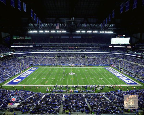 "Indianapolis Colts Lucas Oil Stadium NFL Football 8"" x 10"" Photo - Dynasty Sports & Framing"