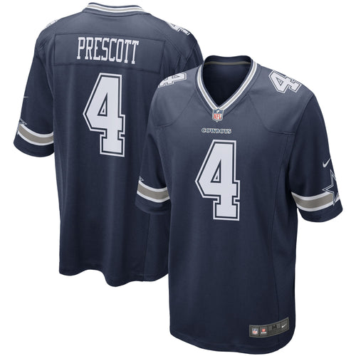 Dak Prescott Dallas Cowboys Nike Navy Blue Game Jersey - Dynasty Sports & Framing