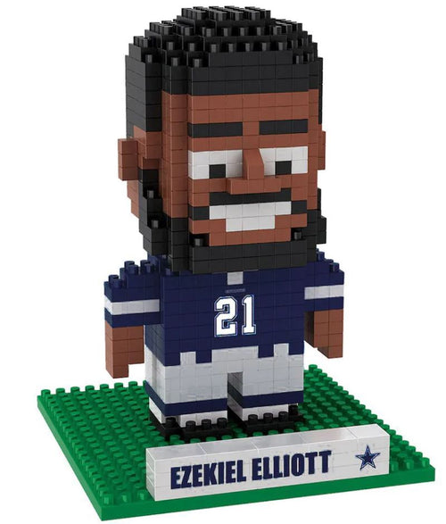 Ezekiel Elliott Dallas Cowboys 3D Player BRXLZ Puzzle - Dynasty Sports & Framing
