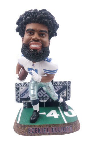 Ezekiel Elliott Dallas Cowboys Scoreboard Bobblehead - Dynasty Sports & Framing