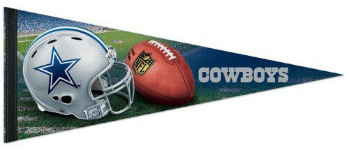 Dallas Cowboys 12x30 Premium Football Pennant - Dynasty Sports & Framing