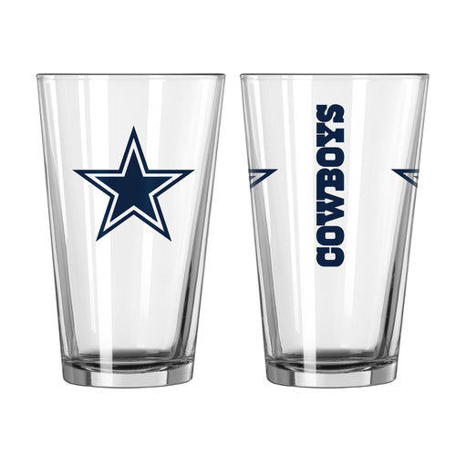 Dallas Cowboys NFL 2-Piece Pint Glass Gift Set - Dynasty Sports & Framing