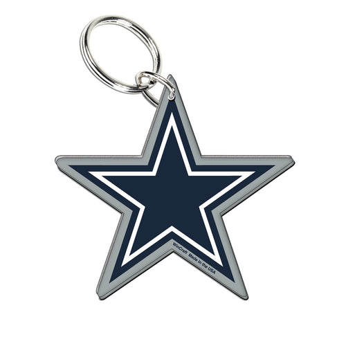 Dallas Cowboys Acrylic Logo Keychain - Dynasty Sports & Framing
