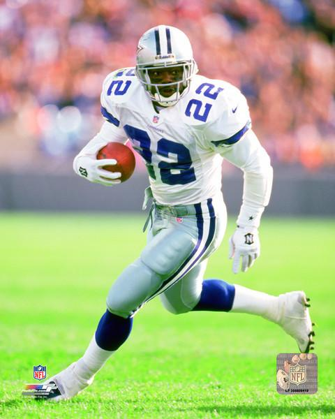 "Dallas Cowboys Emmitt Smith NFL Football 8"" x 10"" Photo"