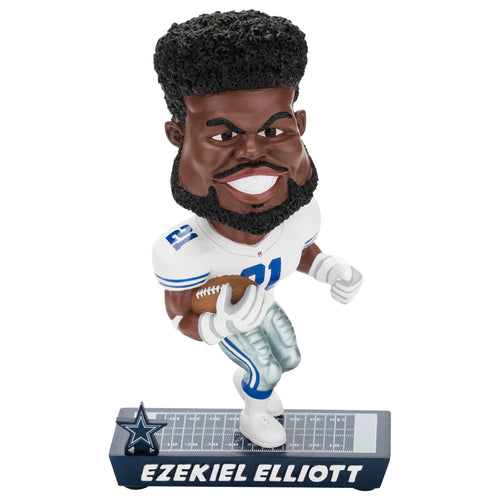 Ezekiel Elliott Dallas Cowboys NFL Football Bobblehead - Dynasty Sports & Framing