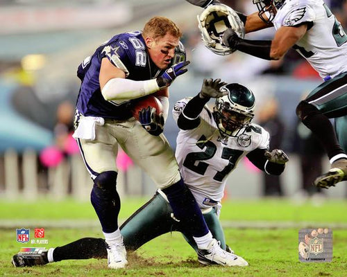Jason Witten No-Helmet Run v. the Eagles Dallas Cowboys NFL Football Photo - Dynasty Sports & Framing