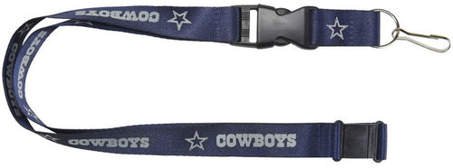 Dallas Cowboys NFL Football Breakaway Lanyard (Navy) - Dynasty Sports & Framing