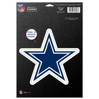 "Dallas Cowboys NFL Football 8"" Die-Cut Magnet - Dynasty Sports & Framing"