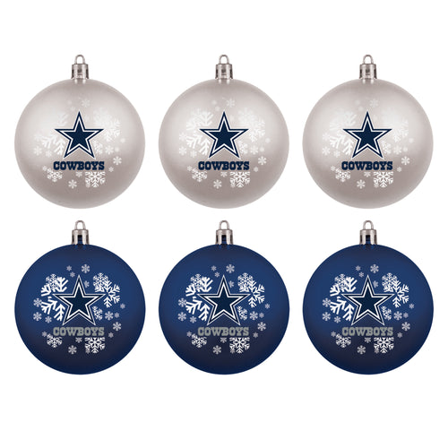 Dallas Cowboys Holiday 6 Piece Ornament Set