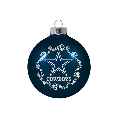 Dallas Cowboys Shatterproof Holiday Ball Ornament