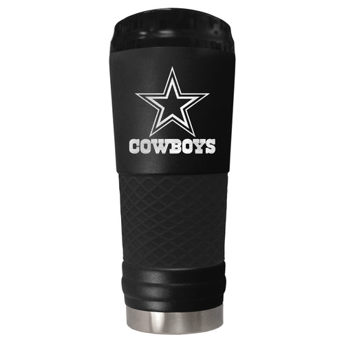 Dallas Cowboys 18 oz. Jr. Stealth Stainless Steel Travel Tumbler - Dynasty Sports & Framing