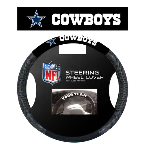 Dallas Cowboys NFL Football Steering Wheel Cover - Dynasty Sports & Framing