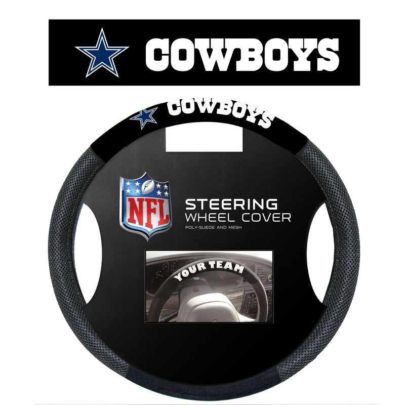 Dallas Cowboys Steering Wheel Cover - Dynasty Sports & Framing