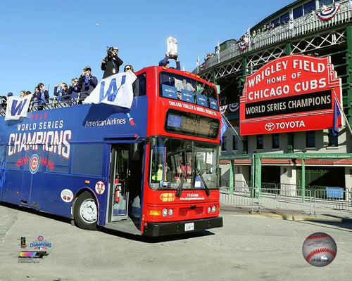 "Chicago Cubs 2016 World Series Champions Parade At Wrigley Field 8"" x 10"" Photo - Dynasty Sports & Framing  - 1"