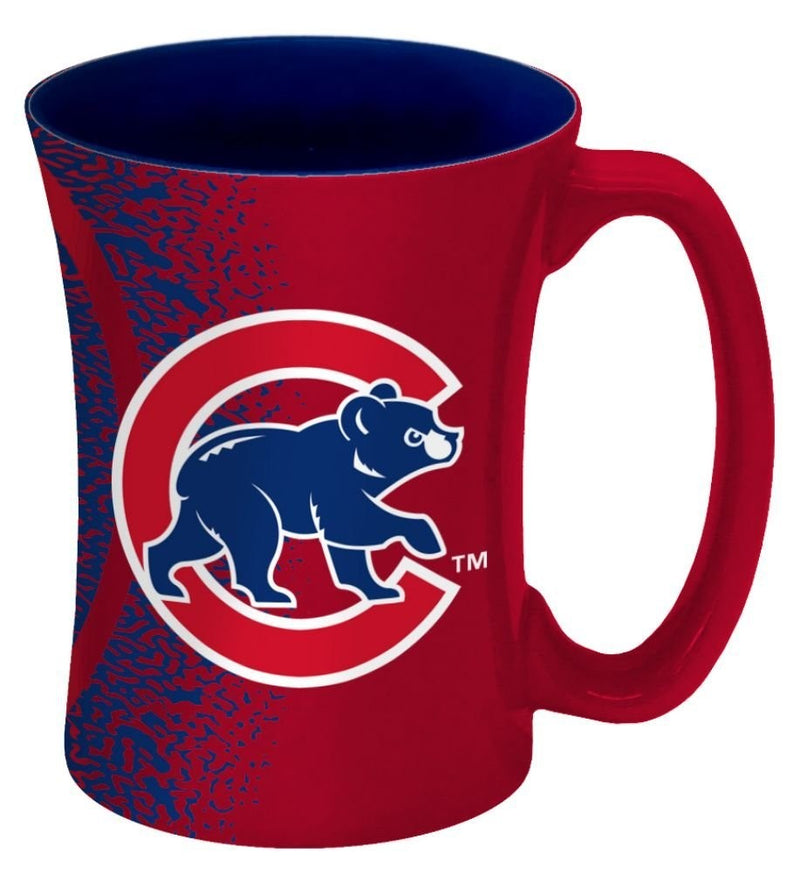Chicago Cubs MLB Baseball 14 oz. Mocha Mug - Dynasty Sports & Framing