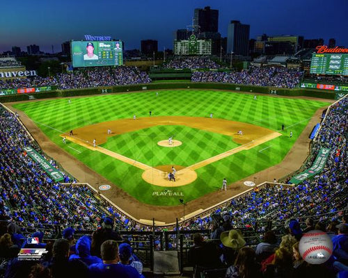 "Chicago Cubs Wrigley Field Stadium MLB Baseball 8"" x 10"" Photo"