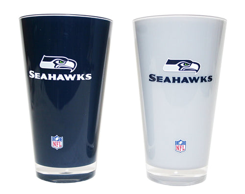 Seattle Seahawks NFL Football 2-Pack Tumbler Cup Set