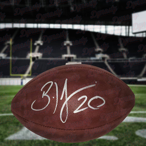 Brian Dawkins Philadelphia Eagles Autographed NFL Duke Football