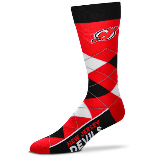 New Jersey Devils Men s NHL Hockey Argyle Lineup Socks - Dynasty Sports    Framing 1fb97949d
