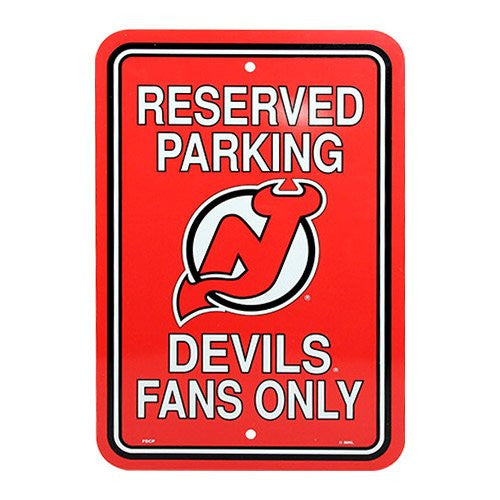 New Jersey Devils NHL Hockey Parking Sign - Dynasty Sports & Framing