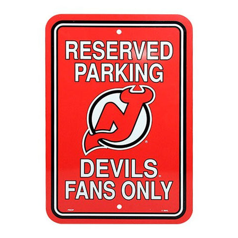 New Jersey Devils Parking Sign - Dynasty Sports & Framing