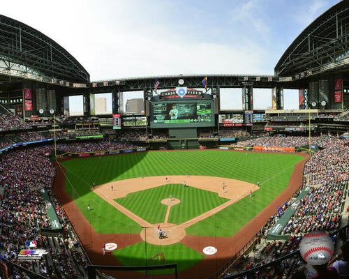 "Arizona Diamondbacks Chase Field Stadium MLB Baseball 8"" x 10"" Photo"