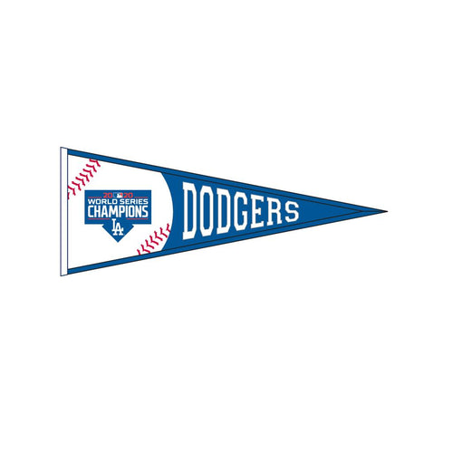 Los Angeles Dodgers 2020 World Series Championship Pennant - Dynasty Sports & Framing
