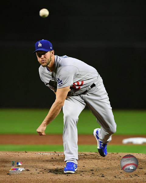 "Los Angeles Dodgers Clayton Kershaw MLB Baseball 8"" x 10"" Photo"