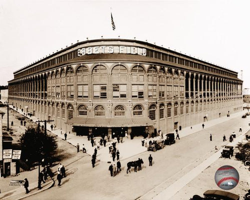 "Ebbets Field Brooklyn Dodgers MLB Baseball 8"" x 10"" Stadium Photo"