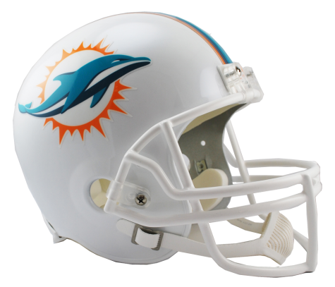 Miami Dolphins NFL Full-Size Helmet Replica - Dynasty Sports & Framing