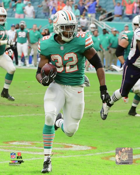 "Kenyan Drake Miami Miracle Miami Dolphins 8"" x 10"" Football Photo - Dynasty Sports & Framing"