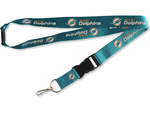 Miami Dolphins NFL Football Breakaway Lanyard - Dynasty Sports & Framing